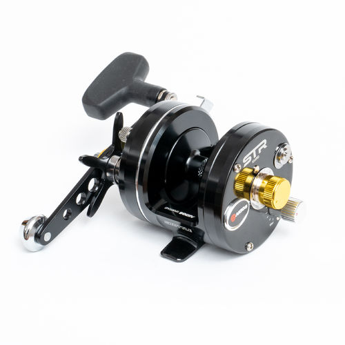 Akios Shuttle 555 STR KURO Multiplier Reel